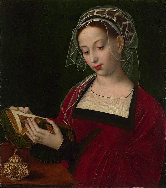 File:The Magdalen Reading - Ambrosius Benson (NG655).jpg