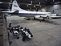 The NASA P-3B sits in the hangar at Thule Air Base.jpg