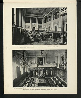 House of Assembly of South Africa - The House of Assembly