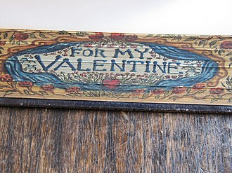 Fore-edge painting - Image: The New Casket Fore Edge Painting