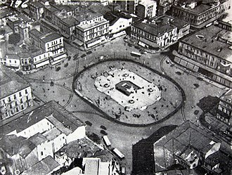 Omonoia Square - Image: The Omonia square in Athens, 1932
