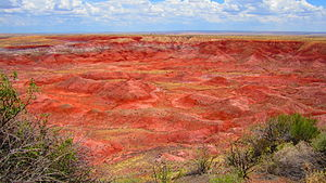 Painted Desert (Arizona) - Image: The Painted Desert
