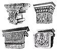 The Pataliputra capital and three Greek anta capitals.jpg