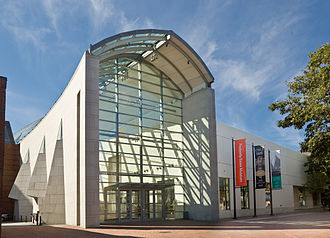 Peabody Essex Museum - The main entrance to the museum
