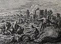 The Phillip Medhurst Picture Torah 323. Murrain in the livestock. Exodus cap 9 v 6. Jan Luyken.jpg