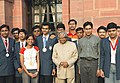 The President Dr. APJ Abdul Kalam met the Olympiad Medialists-2004 at Rashtrapathi Bhawan on August 15,2004 (1).jpg
