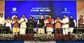 The Prime Minister, Shri Narendra Modi laying the foundation stone of the Pune Metro Project (Phase 1), in Pune.jpg