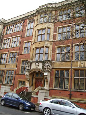 West Grove (Cardiff) - Public Analyst's Laboratory in the Queen's Buildings