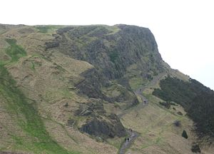 Radical War - The Radical Road, Salisbury Crags