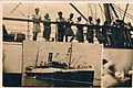 The Ship Corinthia, July 1947 Alexandria port. On the deck illegal and legal immigration to Israel.jpg