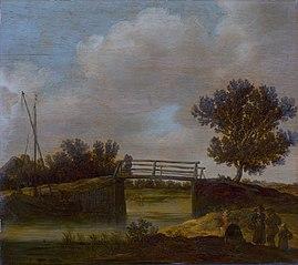 Landscape with Bridge, known as 'The Small Bridge'