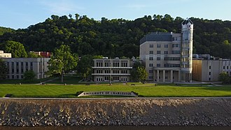 University of Charleston - The University of Charleston from across the Kanawha River
