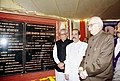The Vice President Shri Bhairon Singh Shekhawat unveils the plaque for the foundation of the renovation of Constitution Club in New Delhi on February 04, 2004.jpg