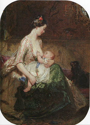 National Institution of Fine Arts - Image: The Young Mother