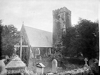 The church, Llawhaden
