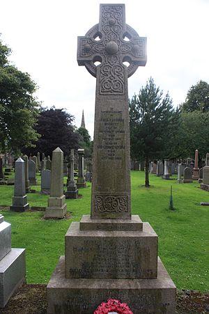 George McCrae (politician) - The grave of Sir George McCrae, Grange Cemetery, Edinburgh