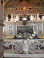The preserved sacred body of St. Francis Xavier - The Basilica of Bom Jesus.jpg