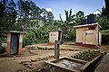 The toilets at Bogawana Estate School were funded by AusAID. (10729755006).jpg