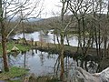 The trackbed of the former Padarn Railway marooned by floods - geograph.org.uk - 663575.jpg