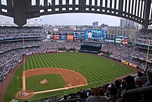 Description de l'image  The view from the Grandstand Level at New Yankee Stadium.jpg.