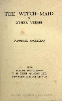 The witch-maid & other verses (1914).djvu