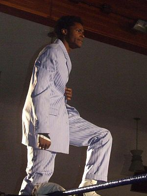 Human Tornado - Williams in 2007.