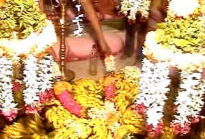 Nizhal Thangal - The Panividais kept for the festival of Thirukkalyana Vasippu