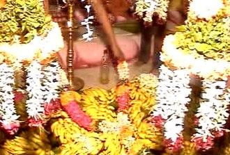 Nizhal Thangal - The Panividais kept for the festival of Thirukkalyana Vasippu