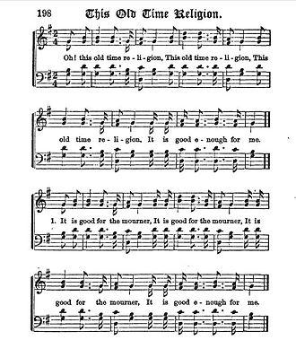 Charles Davis Tillman - Image: This Old Time Religion 1873