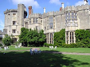 Thornbury Castle - The west front of Thornbury Castle. The castle was begun in 1511 as a home for Edward Stafford, third Duke of Buckingham.