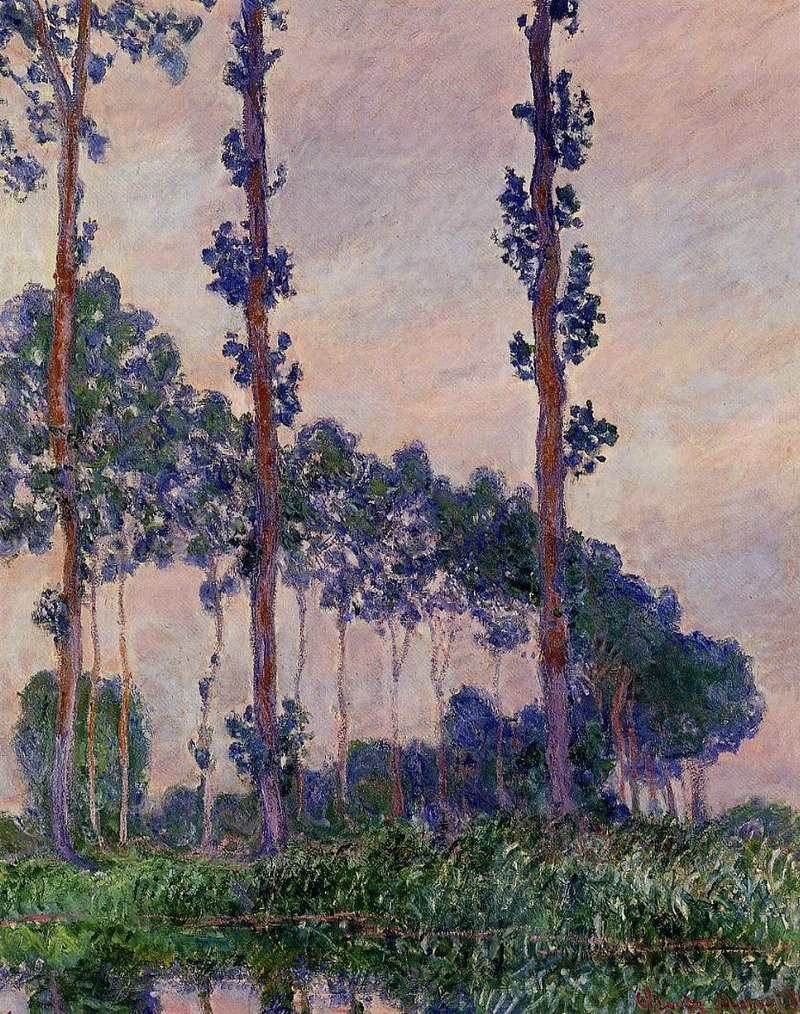 Three Trees in Grey Weather 1891 Claude Monet.jpg