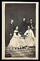 Three men and two women posing in formal attire 51341v.jpg