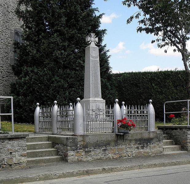 Monument aux morts de Thubœuf (53).