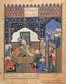 Timur enthroned at Balkh, Afghanistan.jpg