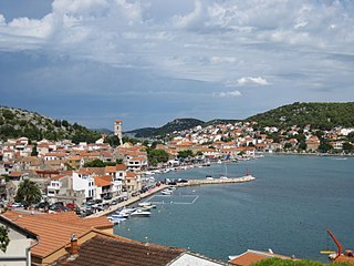 Tisno Municipality in Šibenik-Knin, Croatia