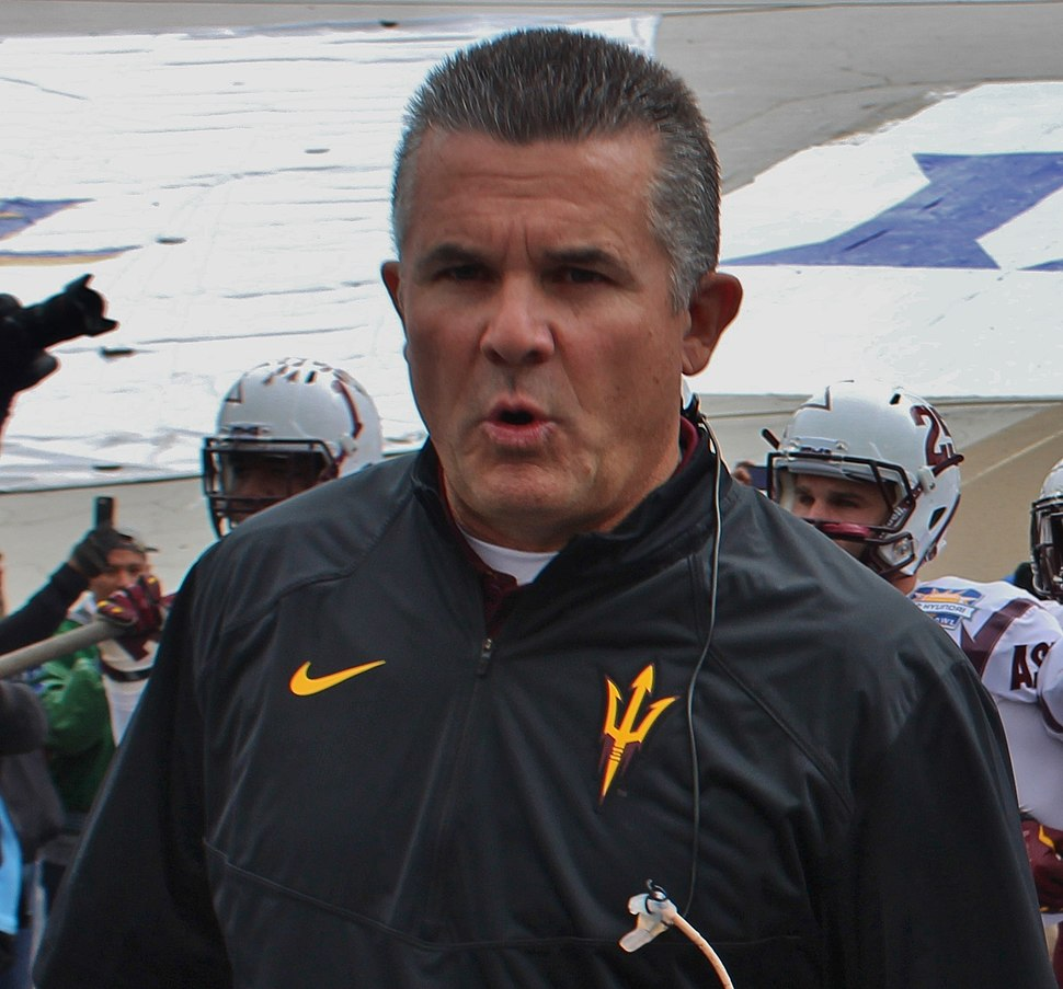Todd Graham at 2014 Sun Bowl