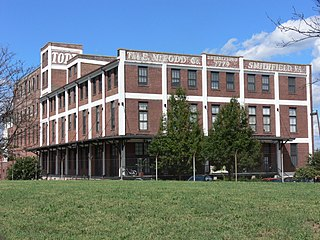 E. M. Todd Company factory in Richmond, Virginia