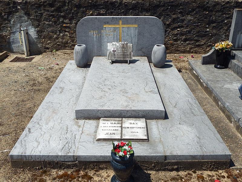 Tombe de Jean Othats, au cimetière Saint-Vincent de Dax