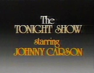 <i>The Tonight Show Starring Johnny Carson</i> Television series