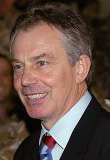 Photograph of Tony Blair
