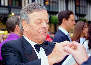 Tony Blackburn - Blackburn at the 2008 BAFTA Television Awards