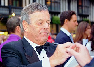 Tony Blackburn - Blackburn at the BAFTA Awards, 2008