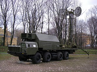 RT-2PM Topol - Troposphere Relay Station vehicle of Topol at the Saint-Petersburg Artillery Museum