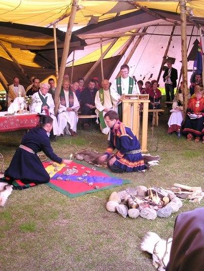 Tore Johnsen, samiske kirkedager