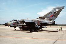 Un Tornado GR.1 della RAF