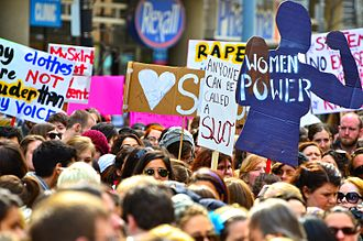 Rape culture - The first SlutWalk in Toronto, Ontario, 3 April 2011