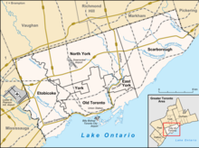 CYZD is located in Toronto