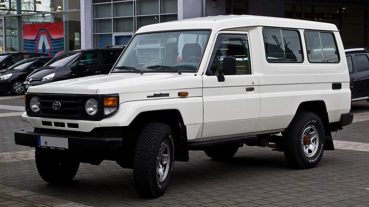 ... Toyota Land Cruiser Wiki Datei Toyota Land Cruiser J7 Facelift  Frontansicht 3 ...