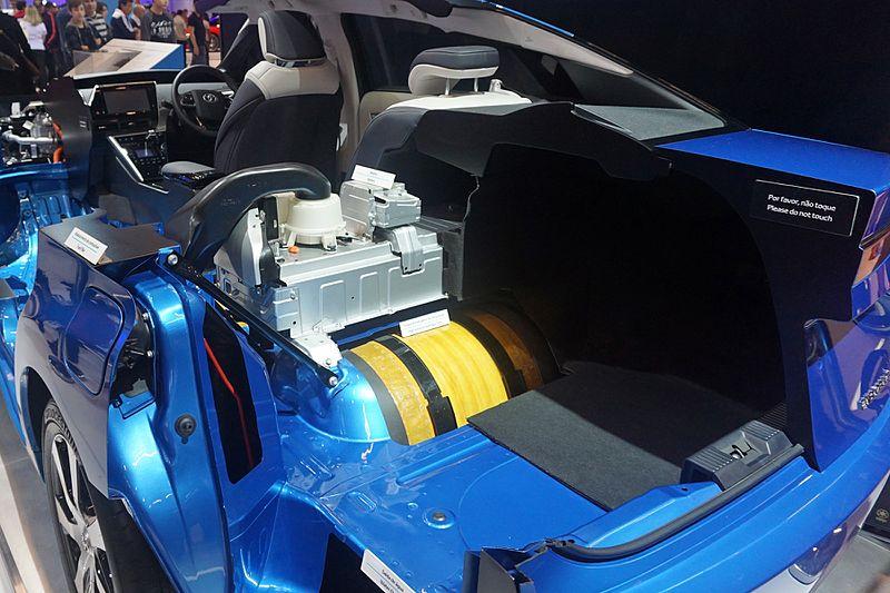 Устройство автомобиля Toyota на водороде