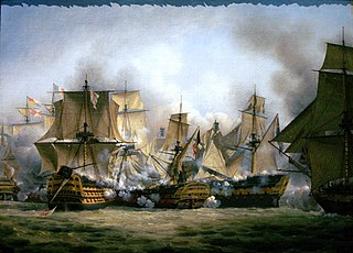 French ship <i>Redoutable</i> (1791) French 74-gun ship of the line, notable for her role in the battle of Trafalgar